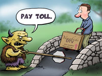 patent troll in action