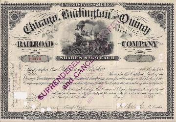 historical railroad stock 19th century