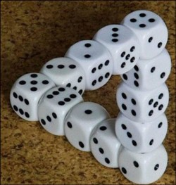 dice illusion