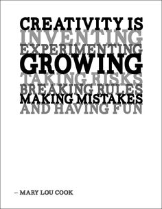 creativity taking risks
